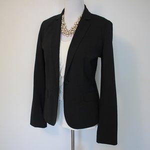 J. CREW Size 12 Gray Suit Jacket Blazer